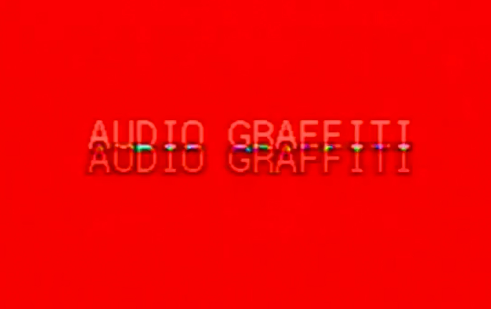 Audio Graffiti